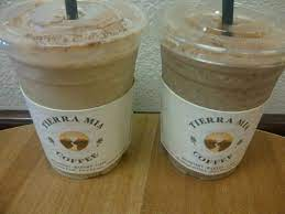 I had technical issues with recording with my cellphone. Tierra Mia Coffee Horchata Frappe Food Frappe Yummy