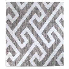 hector gray white area rug grey and 5x7 design