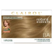 Natural Instincts Creme Color Chart Clairol Natural Instincts Semi Permanent Hair Color 4 Dark