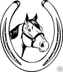 quarter horse head clip art. Unique Horse Image Is Loading QuarterHorseHeadShoeEquestrianTrailerDecal10 On Quarter Horse Head Clip Art D