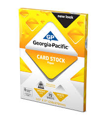 georgia pacific white cardstock paper 8 5 x 11 110 lb 150 sheets walmart