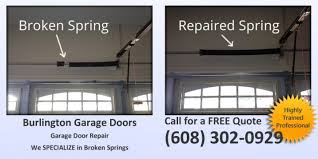 garage door spring repairBurlington Garage Door Repair