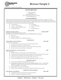 Cool Resume Body Gallery Example Resume Ideas Alingari Com