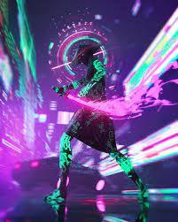 Neon samurai ...