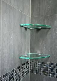 Bathroom Glass Corner Shelves Shower New Glass Shower Shelves Glass Shower Shelves Brilliant Bathroom