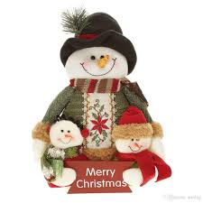 2018 Festnight Lovely Adorable Christmas Toy Doll Well Made Santa Clause  Snowman Cloth Doll Plush Toy Christmas Decoration From Stellag, $9.55 |  Dhgate.Com