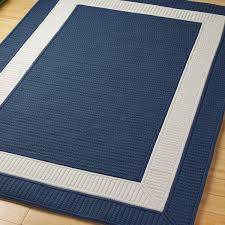 rug 7x7. border braided indoor outdoor rug: 7x7 in navy $448 - the only one geoff and rug