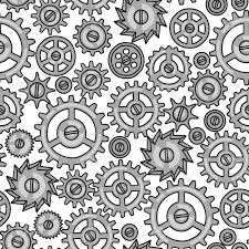 Steampunk Patterns Fascinating Steampunk Gears And Cogs Drawing At GetDrawings Free For