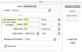 Standard Business Card Size Template Photoshop Lcshungkuen