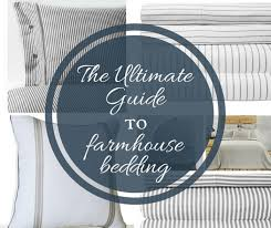 farmhouse bedding and bedroom decor