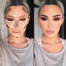 playing around with contour lines is easy contours makeup and makeup tricks