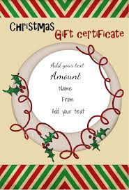 christmas certificates templates christmas certificate template template idea