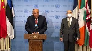 في 12 نقطة.. وزير الخارجية يوجه رسائل قوية خلال مؤتمر صحفي عقب جلسة مجلس  الأمن - بوابة الأهرام