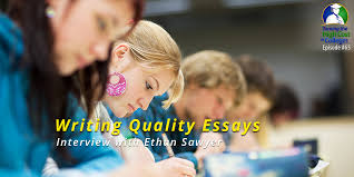 writing quality essays