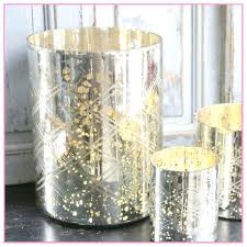 mercury glass vases tall gold large