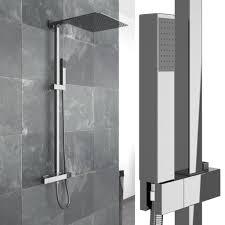 Duschset Duscharmatur Handbrause Thermostat Duschkopf Regendusche Duschpaneel