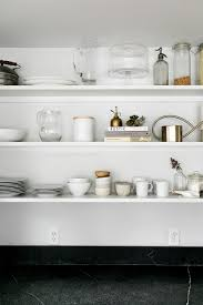 Open Shelving Kitchen Tips For Organizing Your Open Shelves This Spring Fresh Exchange