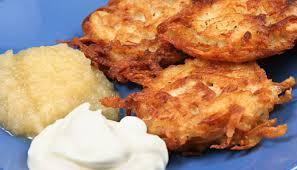 traditional potato latkes kosher and