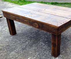 In This Instructable I Show You How I Made An Awesome Rustic Coffee Table  From Reclaimed