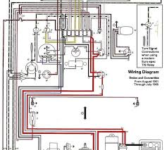 auto wiring diagram 1962 1965 vw beetle electrical diagram