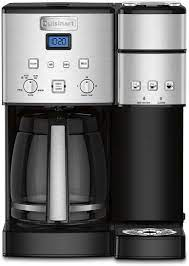 4.1 out of 5 stars 239. Amazon Com Cuisinart Ss 15p1 Coffee Center 12 Cup Coffeemaker And Single Serve Brewer Silver Kitchen Dining