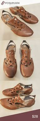 Rieker Shoe Size Chart Rieker Antistress Brown Leather Sandals 37 6 5 Rieker