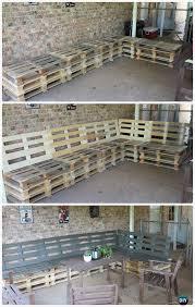 diy patio pallet furniture set instructions diy outdoor patio furniture ideas