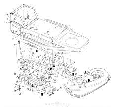 Mtd 13ah451f352 1998 parts diagram for deck lift hanger