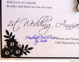 Marriage Anniversary Quotes Fresh Happy 1st Anniversary Cards Quotes