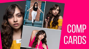 What Is A Comp Card What Should Go On Your Modeling Comp Card Youtube