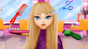 Fun Girls Makeover Kids Games Play Hair Salon Makeup Dress Up