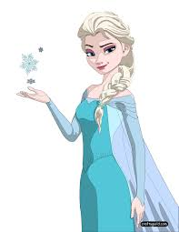 Small Picture Queen Elsa Coloring Page 1