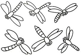 Dragonfly Coloring Pages Of Animals Animal Coloring Pages Of
