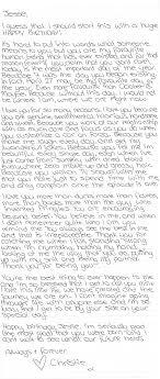 A Literal Letter To Jesse Happy Birthday Boyfriends