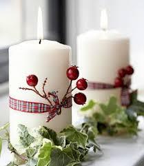 Velas no chão a caminho do. 29 Ideias Para Decorar A Sua Mesa De Natal Com Velas Casa Com Br