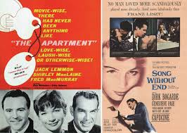 1961 Comedy The Apartment Musical Song Without End Golden Globes