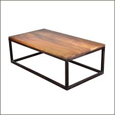 Perfect Gorgeous Mango Wood Coffee Table Industrial Iron Amp Mango Wood 523939 Long Coffee  Table Modern Photo Gallery