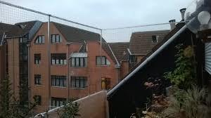 Dachloggia Balkon In Köln Ohne Bohren Mit Katzennetz Gesichert