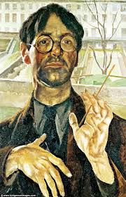 self portrait adelaide road 1939 stanley spencer spent most of his days