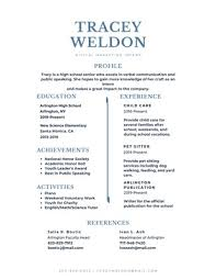 A High School Resume Customize 858 High School Resumes Templates Online Canva