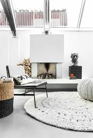 large round rugs for living room designs