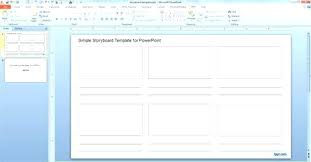 Animation Template Storyboard Doc Word Document – Ukcheer Template ...