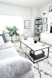 big white living room rug fur off jute coffee table styling rooms family home decor furniture