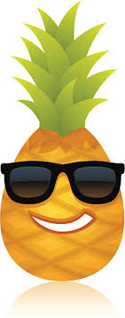 pineapple with sunglasses clipart. icon face pineapple clip art with sunglasses clipart e