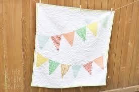 baby bunting banner quilt | Little Birdie Secrets & baby bunting banner quilt Adamdwight.com