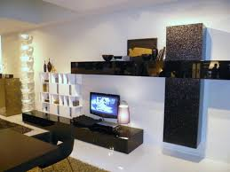 Small Picture Tv Stands 10 elegant metal tv stand black color design ideas