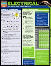 Electrical Tri Fold Laminated Chart Buy Online In Uae
