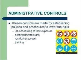administrative controls definition