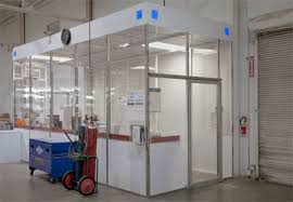 clear office. Delighful Office Create A Clean Enclosed Office Space Quickly And Conveniently Shown Here  Three 12u0027 Walls Of Clear Acrylic With Polypropylene Modesty Panels Plus Optional  Inside Clear Office