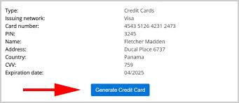 working credit card generator that work